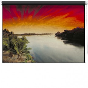 Tropical Island printed blind