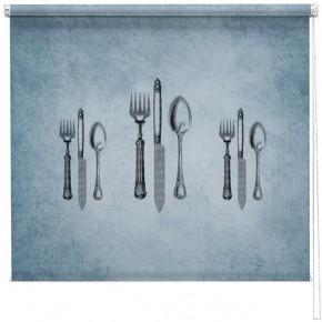 Vintage Cutlery printed blind