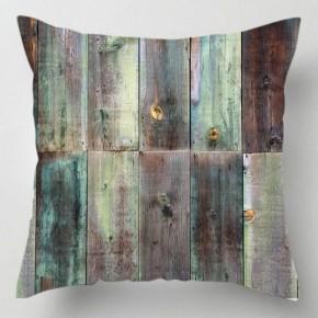 Wood panel cushion