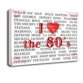 Love the 80's print