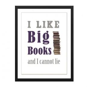 I like Big Books canvas art