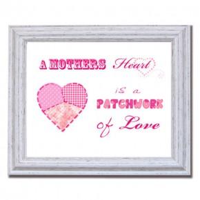 A Mothers heart canvas art print