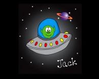 Alien spaceship childrens blind