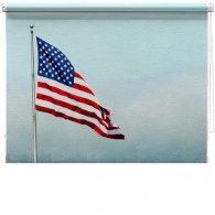 Stars and stripes flag blind