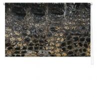 Crocodile skin printed blind