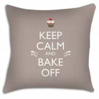 Keep Calm and Bake off cushion, for all those Great British Bake off fans!