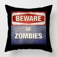 Beware of Zombies cushion