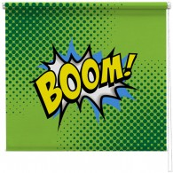 Boom comic printed blind