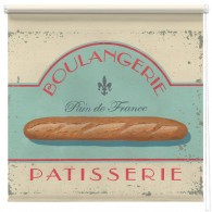 Boulangerie Pattisserie printed blind martin wiscombe