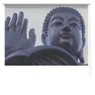 Buddha printed blind