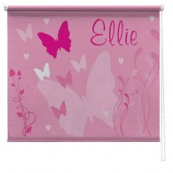 Butterfly printed childrens blind