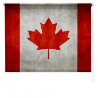 CANADIAN FLAG PRINTED BLIND