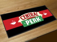 Central Perk coffee bar runner mat