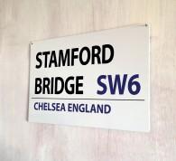 Stamford Bridge Chelsea Street Sign