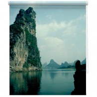 China Lake printed blind