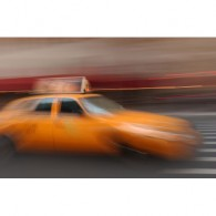 new york cab canvas art