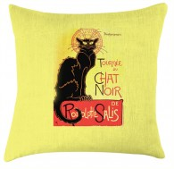 Le Chat Noir cushion