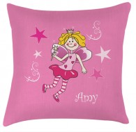 Personalised Fairy childrens cushion