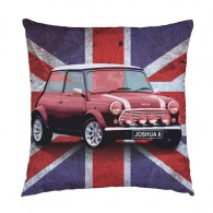 Personalised Union Jack Mini cushion