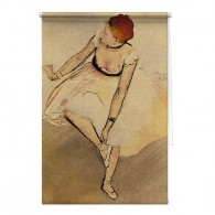 Dancer Edgar Degas masters study painting printed blind