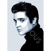 Elvis printed blind