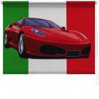 Ferrari printed blind