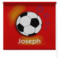 Football printed childrens blind