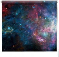 Galaxy printed blind