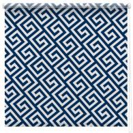 Greek key print blind
