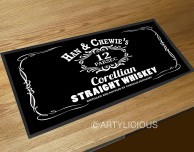 Han & Chewie's Corellian Whiskey bar runner mat