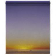 Sunset printed roller blind