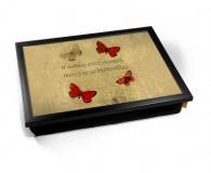 Butterflies Lap tray