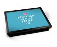 keep calm and put the kettle on laptray