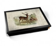 Vintage Deer laptray