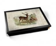 Vintage Deer laptray
