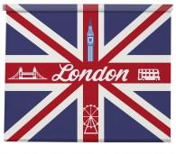 London Union Jack blind