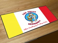 Los Pollos Hermanos bar runner mat