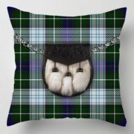 Check Tartan Sporran cushion