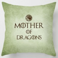 Mother of Dragons game of thrones cushion