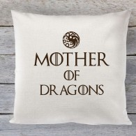 Mother of Dragons linen cushion
