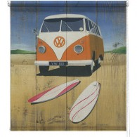 Surf Camper printed blind martin wiscombe