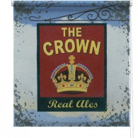 The Crown pub printed blind martin wiscombe