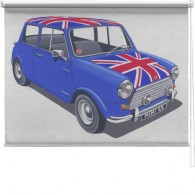 Union Jack mini printed blind martin wiscombe
