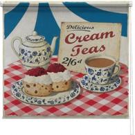 Cream Teas printed blind martin wiscombe