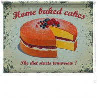 Cakes printed blind martin wiscombe