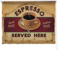 Espresso printed blind martin wiscombe