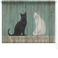 Le chat printed blind martin wiscombe
