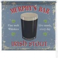 Murphys bar printed blind martin wiscombe