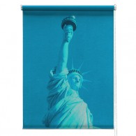 Statue of Liberty Printed Blind