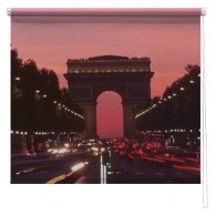 Paris printed blind
